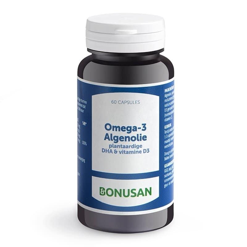 Bonusan omega-3 algenolie