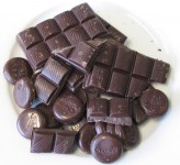 Chocolade puistjes acne