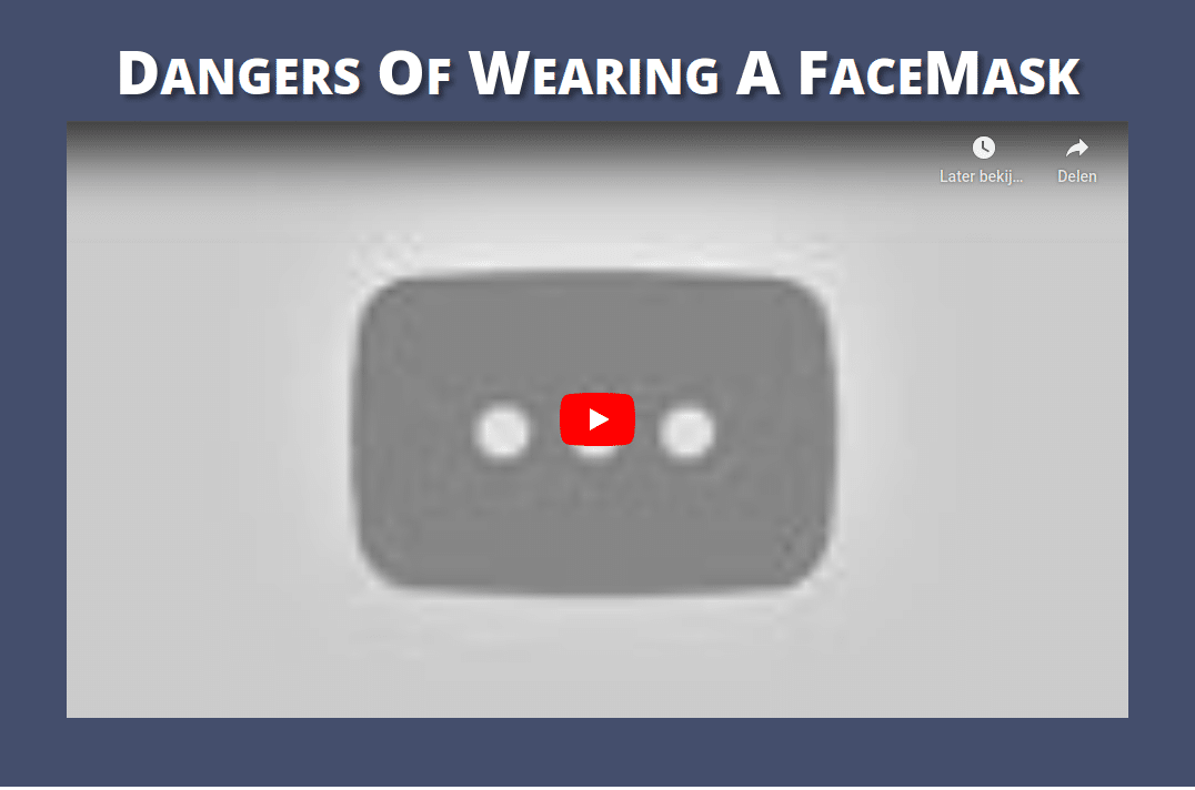Mascné puistjes schimmel uitslag door mondmaskers censuur