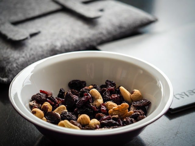 Recept Kersen Trail mix