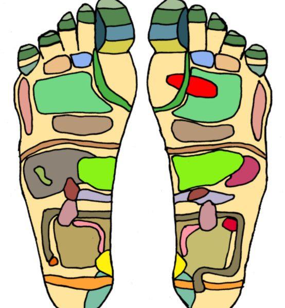 detoxen via de voeten