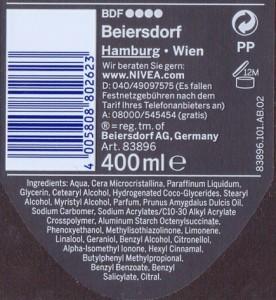 ingredienten cosmetica