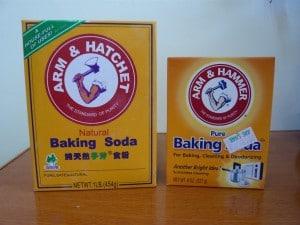 natuurlijke deodorant baking soda